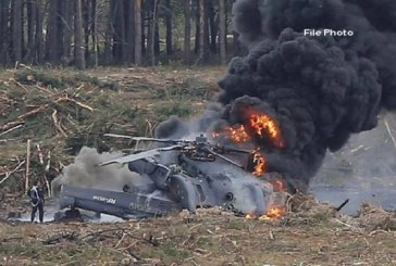 شام میں روس کا فوجی ہیلی کاپٹر گر کر تباہ ، دونوں پائلٹ ہلاک