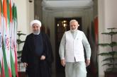 ہندوستان میں ایرانی صدر حسن روحانی کے پرتپاک استقبال کا سلسلہ جاری ،دونوں ملکوں کے درمیان 9 اہم معاہدوں پر دستخط