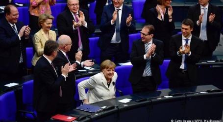 انجیلا میرکل چوتھی مرتبہ جرمن چانسلر منتخب