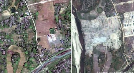 روہنگیامسلمانوں کی بستیاں تباہ کرنے کے بعد فوج وہاں بنارہی چھاونیاں