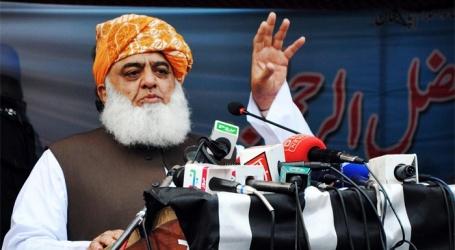 ہماری سیاست امریکہ کی نہیں مدینہ منورہ کی ہوگی ،پاکستان کی 85 فیصد عوام اسلامی نظام چاہتی:جمعیة علماءاسلام پاکستان