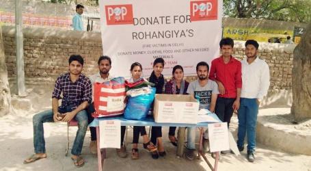 روہنگیا مسلمانوں کی مدد کیلئے آگے آئی P2P نیوز کی ٹیم،خلیل اللہ مسجد کے پاس کیمپ لگاکر مدد کی اپیل