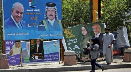 عراق میں پارلمیانی انتخابات کیلئے ووٹنگ جاری ، 87 پارٹیوں کے 6990 امیدوار کررہے ہیں قسمت آزمائی