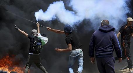 فلسطین میں قیامت خیز منظر ،اسرائیلی دہشت گردی میں45مظاہرین شہید ،2200 سے زائد زخمی