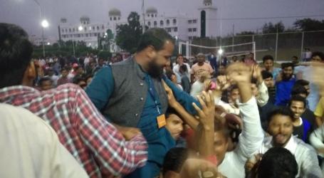 مولانا آزاد یونین کے سبھی سیٹ پر انسا نے جمایا قبضہ