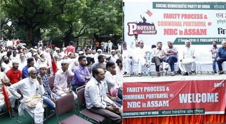 آسام این آر سی مسودہ متضادات اور فرقہ واریت پر مشتمل ،ایس ڈی پی آئی نے شروع کی ملگ گیر احتجاجی مہم ،دہلی سے آغاز