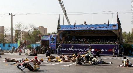 ایران میں فوج کی پریڈ پر دہشت گردانہ حملہ 24 جوانوں کی موت ،55سے زائد زخمی