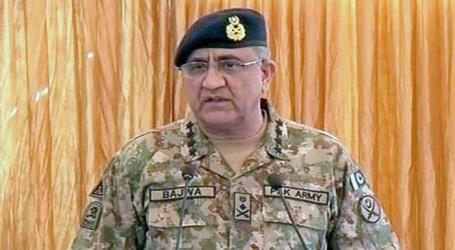 ہم سرحدپر بہے خون کا بدلہ لیں گے:پاکستان آرمی چیف