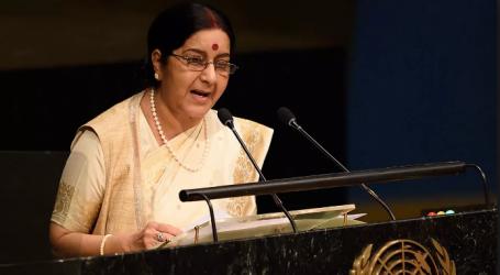 اقوم متحدہ کی جنرل اسمبلی میں سشما سورج کا خطاب ،حسب روایت پاکستان پر لگائے سنگین الزامات