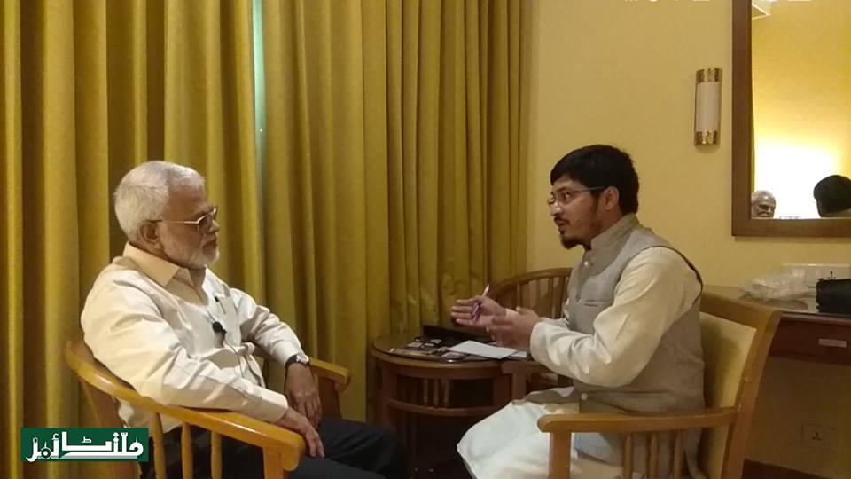 معروف دانشور پاپولر فرنٹ آف انڈیا کے چیرمین ای ۔ابوبکر سے ملت ٹائمز کی خاص بات چیت