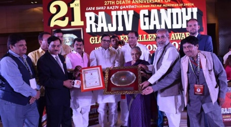 سینئر صحافی ایس ایم آصف راجیوگاندھی ایوارڈ سے سرفراز