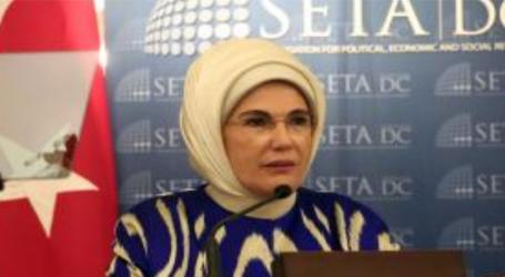 ترکی کا انسانی امداد کا تصور مکمل مفہوم کے ساتھ انسانی امداد پر منحصر ہے: امینہ ایردوان  ترکی انسانی امداد کے حوالے سے ایک مثالی ملک ہے: الیاسا شہباز