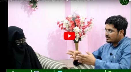 آل انڈیا مسلم پرسنل لاءبورڈ تین طلاق پر لائے گئے آر ڈیننس کو سپریم کورٹ میں چیلنج کرے :ذکیہ عزیز
