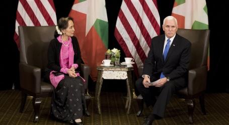میانمار میں روہنگیاپر مظالم ناقابل معافی ،سوچی سے ملاقات کے دوران نائب امریکی صدر کا ملوث فوجیوں کے خلاف کاروائی کا مطالبہ