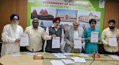 دہلی اقلیتی کمیشن نے جاری کی فیکٹ فائندنگ رپوٹ ، پلو ل مسجد کی تعمیر کیلئے نہیں لیاگیا غیر ملکی پیسہ