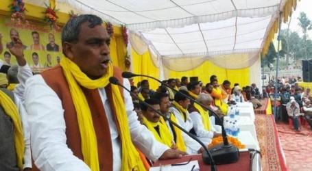 یوگی کے وزیر نے کہا ہندو مسلم کو لڑانے والے اور مسلمانو سے نفرت کرنے والے خود ہی اپنی بیٹیوں کی شادی مسلمانوں کے گھر کرواتے ہیں