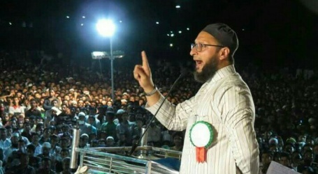 اویسی کا بی جے پی پر بڑا حملہ، کہا – کانگریس سے مکت نہیں ہندوستان سے مسلمانوں کو ختم کرنا چاہتے ہیں امت شاہ