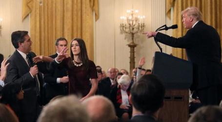 امریکی چینل سی این این نے دیا اپنے صحافی کا ساتھ،اجازت نامہ ختم کرنے پر ٹرمپ انتظامیہ کیخلاف مقدمہ درج
