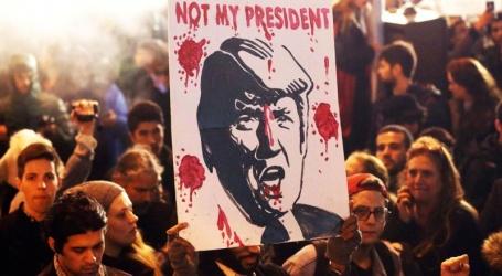 امریکی صدر کے خلا ف واشنگٹن اور نیویارک میں مظاہرے،برطرفی کا مطالبہ