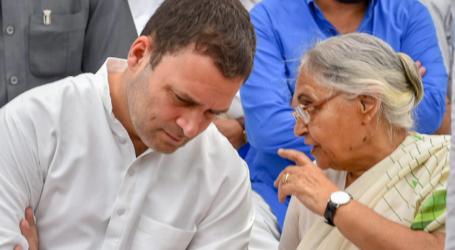 دہلی: عام آدمی پارٹی کے ساتھ اتحاد پرحتمی فیصلہ لیا جا سکتا ہے، راہل نے کی اہم مٹینگ طلب