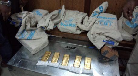 انتخابی کمیشن کے نگراں دستہ نے 146 کلو گرام سونا ضبط کیا
