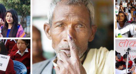 پانچویں مرحلے میں 60 فیصدووٹنگ۔ بنگال میں اس مرتبہ بھی تشدد؛ پلوامہ میں چوکی پر دستی بم سے حملہ