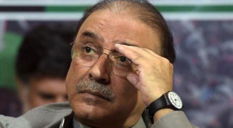 پاکستان کے سابق صدر آصف علی زرداری گرفتار