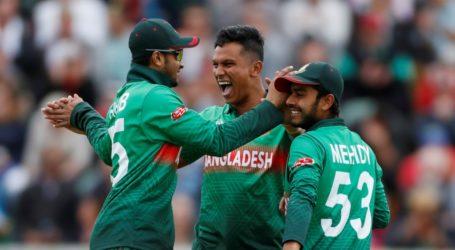 عالمی کپ میں ویسٹ انڈیز کے خلاف بنگلہ دیش کی شاندار جیت
