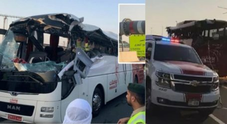 دبئی میں سڑک حادثہ : عید کی چھٹیاں منا کر لوٹ رہے 10 ہندوستانیوں سمیت 17 ہلاک !