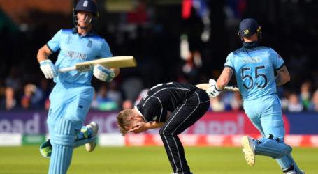 انگلینڈ بنا کرکٹ کا نیا ورلڈ چیمپئن۔ سنسی خیر مقابلے میں نیوزی لینڈ کی شکست