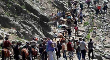 کشمیر میں دہشت گردانہ حملہ کا خطرہ۔ روکی گئی امرناتھ یاترا