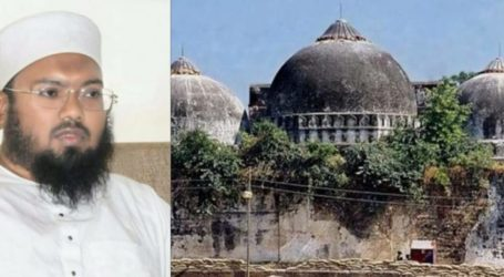 بابری مسجد معاملہ میں مصالحت کی کوئی گنجائش نہیں ہے! دیوبند پہنچے مسلم پرسنل لاء بورڈ کے سکریٹری مولانا عمرین محفوظ رحمانی کا اظہار خیال