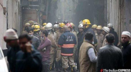 دہلی: اناج منڈی میں بھیانک آتشزدگی ، 42 افراد کی موت ، 50 سے زیادہ لوگوں کو بچایا گیا !