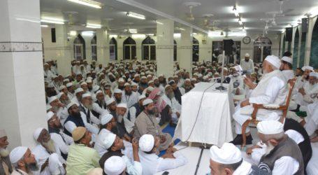 نفرت کی سیاست کا خاتمہ نفرت سے نہیں، محبت سے ہوگا جمعیۃ علماء ہند کی مجلس منتظمہ سے مولانا سید ارشد مدنی کا صدارتی خطاب، اجلاس میں متعدد اہم تجاویز منظور