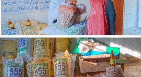 غریبوں کے کام آناوقت کی اہم ضرورت : قاری سیف اللہ اشاعتی