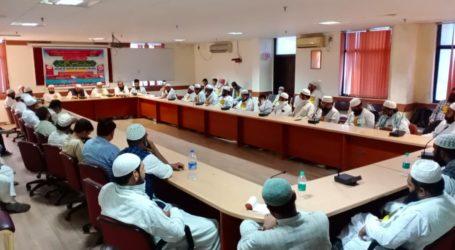 اساتذہ مدارس کی خبر گیری قومی فریضہ اور وقت کا تقاضا عمران حسین وزیر دہلی سرکار نے ائمہ و علماء کے مسائل حل کرنے کے لئے جلد ہی وقف بورڈ کے ساتھ میٹنگ کرنے کا کیا وعدہ