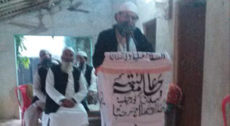 جامعہ عائشہ صدیقہ نورچک ایک تحریک ہے: مولانا ارشد میر (گجرات)