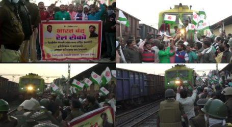 بھارت بند: مہاراشٹر میں ٹرین روکی گئیں، روکنے والوں کو پولیس نے حراست میں لیا