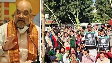 'بھارت بند' سے مودی حکومت کی حالت پست، امت شاہ آج 7 بجے کسانوں سے کریں گے ملاقات