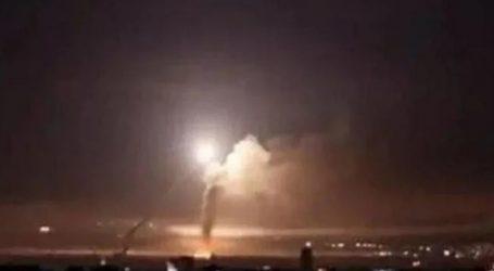شام میں مختلف ٹھکانوں پر اسرائیلی فوج کی بمباری
