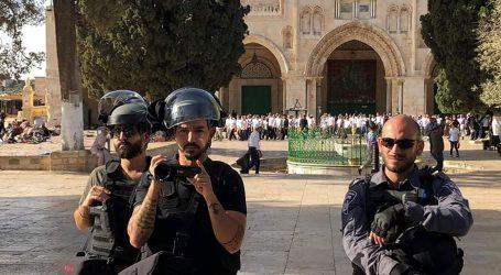 اسرائیلی فوج ناپاک عزائم کے ساتھ مسجد اقصیٰ کے تقدس کو گھنٹوں پامال کرتا رہا
