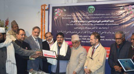 مولانا ابو الکلام آزاد ایوارڈ سے سرفراز ہونے پر سیتامڑھی کی اہم شخصیات نے شمس تبریز قاسمی کو پیش کی مبارکباد