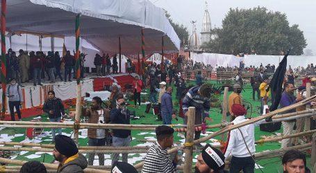 کرنال میں ہوئے کل کے ہنگامہ پر 71مظاہرین کے خلاف ایف آئی آر درج
