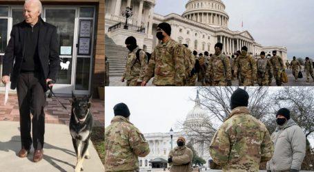 امریکا: بائیڈن کی حلف برداری سے قبل سکیورٹی انتہائی سخت