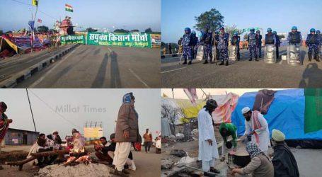 شاہجہاں پور بارڈر: 35 گاؤں والوں نے زرعی قوانین کے خلاف بڑی سڑک پر بسایا 'بڑا گاؤں'