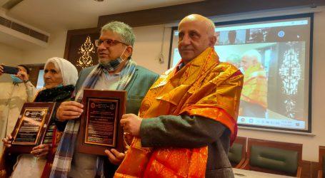 شاہین باغ کی بلقیس دادی اور مشہور حقوق انسانی کارکن ہرش مندر قائد ملت ایوارڈ سے سرفراز
