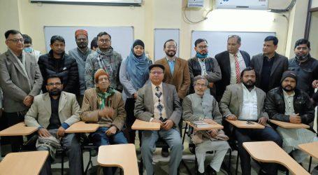 حقانی القاسمی کی ادبی خدمات پر تحقیق و تنقید کی ضرورت ہے: پروفیسر خالد محمود