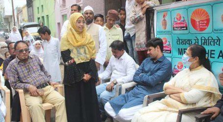 """اورنگ آباد میں ایک لڑکی نے شروع کی اپنے محلہ کے بچوں کے لیے """"محلہ لائبریری"""""""