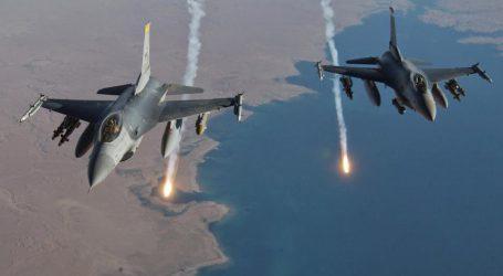 عراق اور شام کی سرحد پر ایک قافلے پر اسرائیلی بمباری