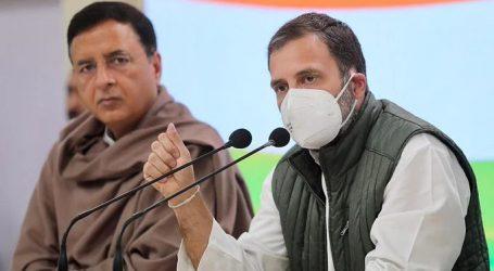 کیا کسان دہشت گرد ہیں، کیا آر ایس ایس کو چھوڑ کر سبھی دہشت گرد ہیں؟: راہل گاندھی